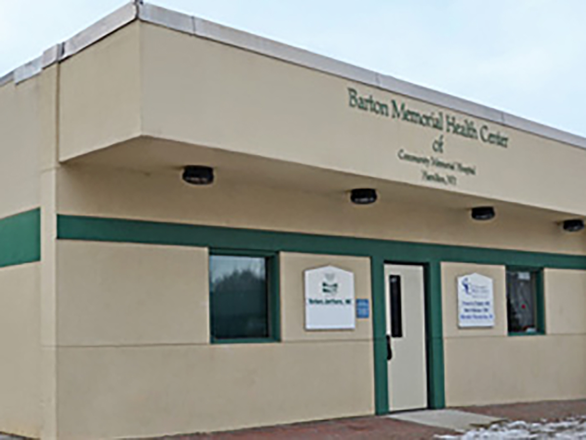 exterior of waterville family health center