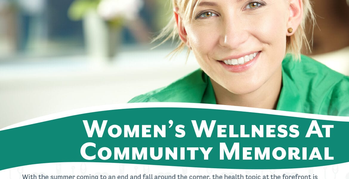 August 2020 Healthy Living Newsletter Cover