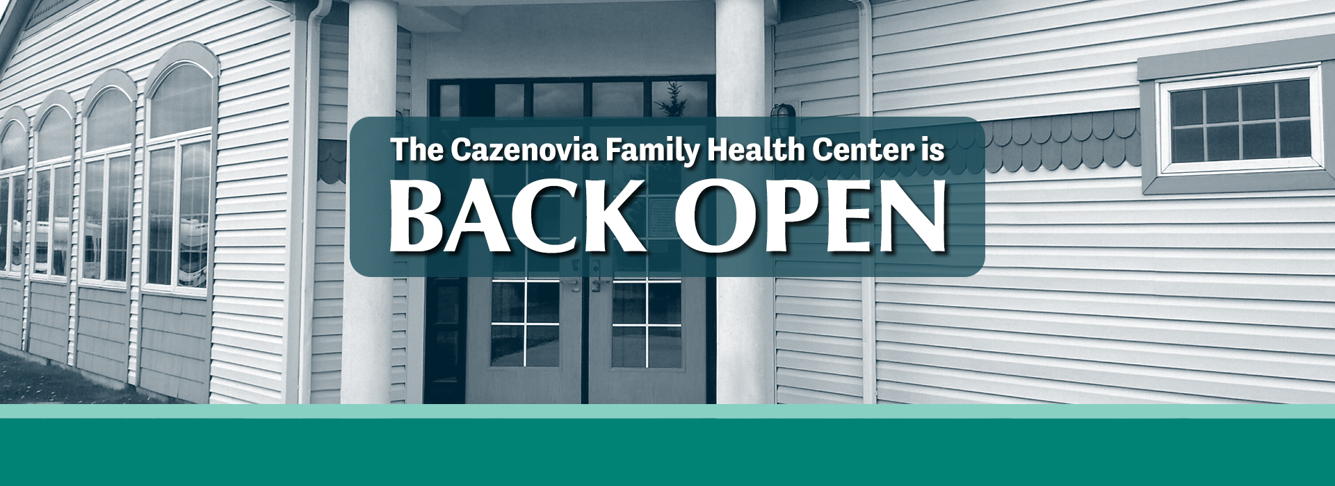 Cazenovia FHC Back Open