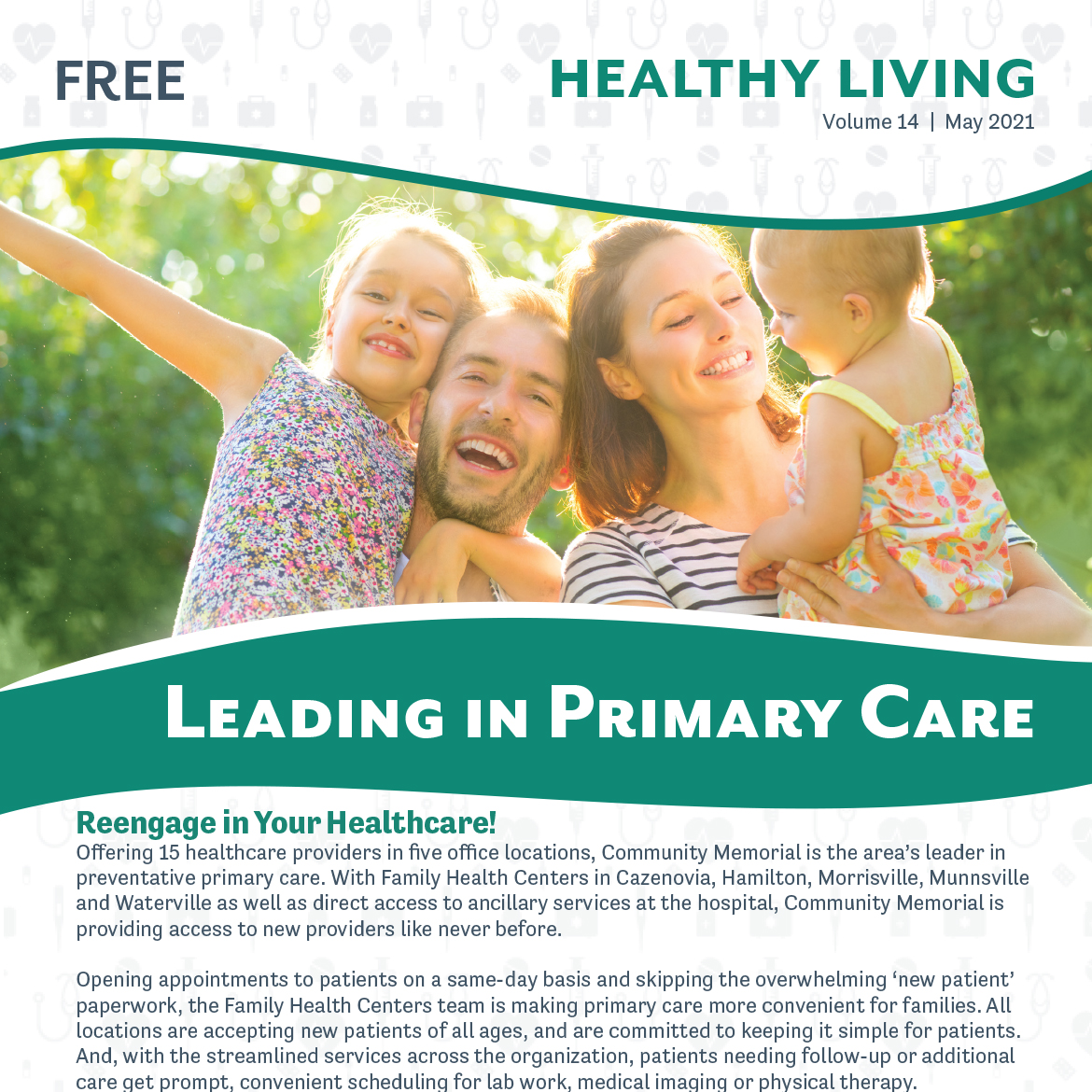 May 2021 Healthy Living Newsletter Cover
